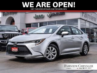Used 2020 Toyota Corolla LE l HEATED SEATS l BLUETOOTH l BACK-UP CAM l for sale in Burlington, ON