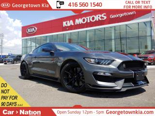 Used 2016 Ford Mustang SHELBY GT350 LIKE NEW| DEALER OWNER PERSONAL CAR for sale in Georgetown, ON