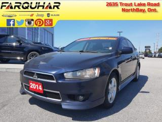 Used 2014 Mitsubishi Lancer SE - Bluetooth - $83 B/W for sale in North Bay, ON