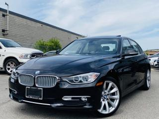 Used 2014 BMW 3 Series |MEMORY SEATS|SUNROOF|WOOD TRIM|LEATHER|ALLOYS & MUCH MORE!! for sale in Brampton, ON