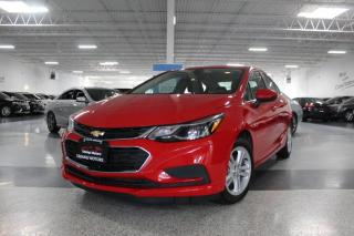 Used 2017 Chevrolet Cruze NO ACCIDENTS I BIG SCREEN I REAR CAM I HEATED SEATS I BT for sale in Mississauga, ON