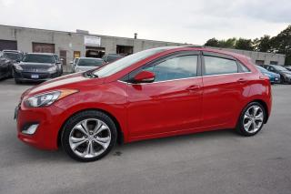 Used 2013 Hyundai Elantra GT TECH PKG NAVI CAMERA CERTIFIED 2YR WARRANTY BLUETOOTH PANO ROOF HEATED LEATHER for sale in Milton, ON