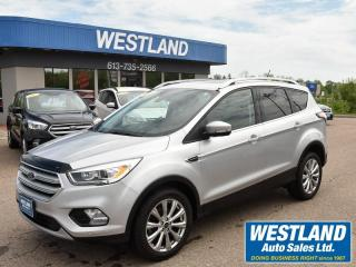 Used 2018 Ford Escape Titanium AWD for sale in Pembroke, ON
