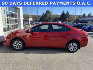 Used 2017 Toyota Corolla 4dr Sdn CVT LE for sale in North Bay, ON