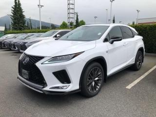 New 2020 Lexus RX 450h F Sport Series 2 for sale in North Vancouver, BC