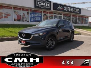Used 2018 Mazda CX-5 GS  ROOF CAM LEATH P/GATE P/SEAT HS AUTO for sale in St. Catharines, ON