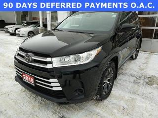 Used 2019 Toyota Highlander Awd Le for sale in North Bay, ON