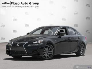 Used 2016 Lexus IS 300 F SPORT - LOW KM for sale in Bolton, ON
