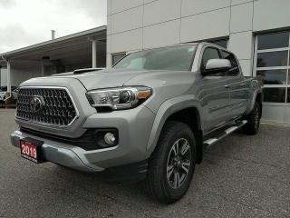 Used 2019 Toyota Tacoma 4x4 Double Cab V6 Auto SR5 TRD Sport Upgrade Demo for sale in North Bay, ON