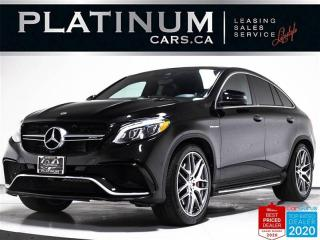 Used 2018 Mercedes-Benz GLE-Class AMG GLE63S COUPE,V8 577HP,NAV,360CAM,APPLE CARPLAY for sale in Toronto, ON