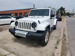 Used 2015 Jeep Wrangler Unlimited Sahara,NAV,HEATED SEATS,2 TOPS,BLUETOOTH for sale in Toronto, ON