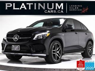 Used 2017 Mercedes-Benz GLE-Class AMG GLE43, COUPE, PREMIUM, NAV, CAM, DRIVER ASST for sale in Toronto, ON