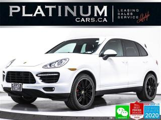 Used 2013 Porsche Cayenne Turbo, 500HP, AWD, NAV, CAM, PANO, BOSE, VENT, BT for sale in Toronto, ON