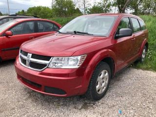 Used 2010 Dodge Journey SE,pw,pl,air,keyless for sale in Peterborough, ON