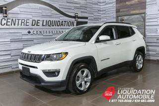 Used 2018 Jeep Compass AWD+GR/ELEC+A/C+BLUETOOTH for sale in Laval, QC