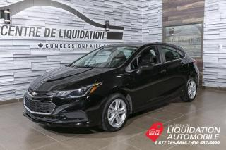 Used 2018 Chevrolet Cruze LT+MAGS+A/C+CAM/REC+BLUETOOTH for sale in Laval, QC