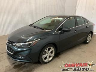 Used 2018 Chevrolet Cruze Premier Cuir Caméra Bluetooth Mags for sale in Trois-Rivières, QC