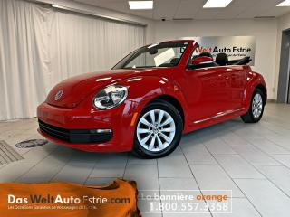 Used 2014 Volkswagen Beetle Convertible Comfortline 1.8TSI, Similicuir, Automatique for sale in Sherbrooke, QC