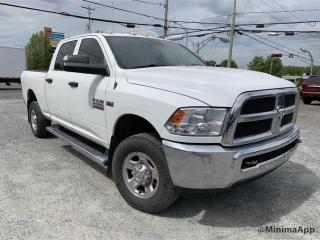 Used 2013 RAM 2500 4X4,Crewcab, boite 6.4 pieds for sale in Drummondville, QC