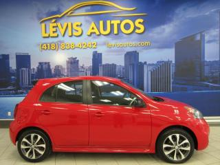 Used 2015 Nissan Micra SR TOUT EQUIPE CAMERA/BLUETOOTH/MAGS/AIR for sale in Lévis, QC