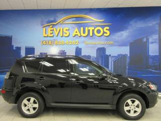 Used 2010 Mitsubishi Outlander LS V-6 3.0 LITRES AWD 7 PASSAGERS BAS PR for sale in Lévis, QC