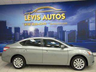 Used 2014 Nissan Sentra S 81300KM JAMAIS ACCIDENTE TRES PROPRE for sale in Lévis, QC