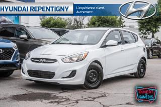 Used 2017 Hyundai Accent GL 5 PORTES**A/C, BLUETOOTH, SIEGES CHAUFFANTS** for sale in Repentigny, QC
