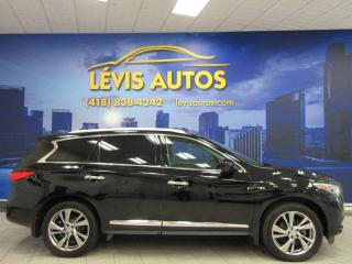 Used 2015 Infiniti QX60 GPS CAMÉRA 360 TV/DVD TOIT PANORAMIQUE 7 for sale in Lévis, QC