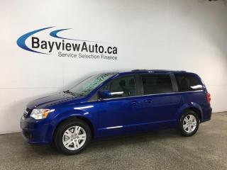 Used 2019 Dodge Grand Caravan Crew - HTD LEATHER! DVD! NAV! PWR DOORS! for sale in Belleville, ON