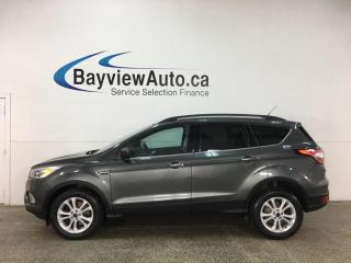 Used 2017 Ford Escape SE - 4WD! HTD LEATHER! PANOROOF! + MORE! for sale in Belleville, ON