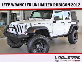 Used 2012 Jeep Wrangler RUBICON for sale in Victoriaville, QC