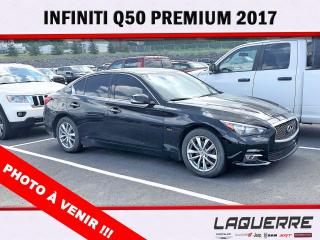 Used 2017 Infiniti Q50 3.0t Premium for sale in Victoriaville, QC