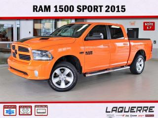Used 2015 RAM 1500 SPORT for sale in Victoriaville, QC