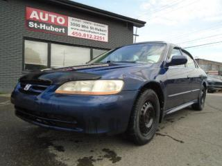 Used 2001 Honda Accord for sale in St-Hubert, QC