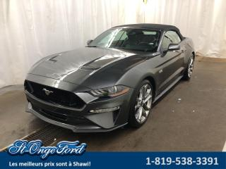 Used 2019 Ford Mustang GT haut niveau décapotable for sale in Shawinigan, QC