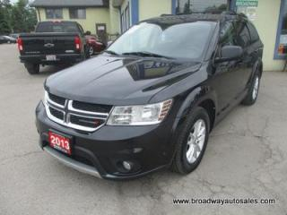 Used 2013 Dodge Journey GREAT VALUE SXT EDITION 5 PASSENGER 3.6L - V6.. CD/AUX/USB INPUT.. BLUETOOTH SYSTEM.. KEYLESS ENTRY & START.. for sale in Bradford, ON