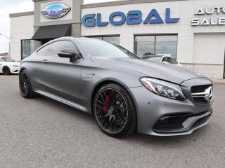 Used 2018 Mercedes-Benz C 63 S AMG C 63 S for sale in Ottawa, ON