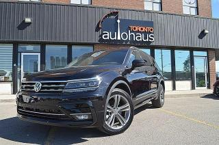 Used 2018 Volkswagen Tiguan R-LINE/NO ACCIDENTS/TOP OF THE LINE Highline for sale in Concord, ON