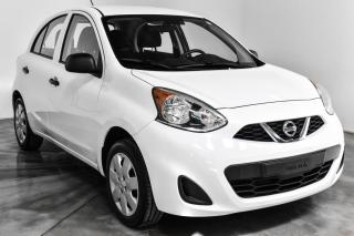 Used 2017 Nissan Micra S Manuelle for sale in Île-Perrot, QC