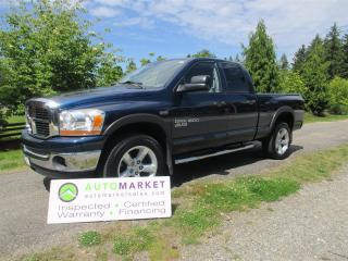 Used 2006 Dodge Ram 1500 IMMACULATE, 4X4, INSP, BCAA MBSHP, WARR, FINANCE for sale in Surrey, BC