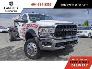 Used 2019 RAM 5500 Chassis Tradesman/SLT Customizable / Bluetooth / Chassis for sale in Surrey, BC