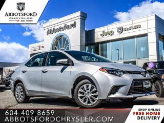 Used 2015 Toyota Corolla LE *LOCALLY DRIVEN* for sale in Abbotsford, BC