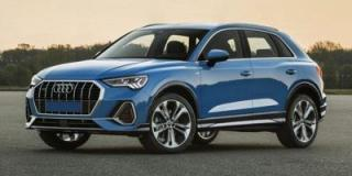 New 2020 Audi Q3 Progressiv for sale in Winnipeg, MB