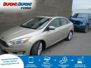 Used 2017 Ford Focus Berline 4 portes Titane CUIR TOIT NAVIGA for sale in Gatineau, QC