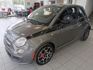 Used 2012 Fiat 500 SPORT / CUIR / TOIT OUVRANT / CRUISE / for sale in Sherbrooke, QC