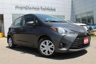 Used 2018 Toyota Yaris LE ONE OWNER ACCIDENT FREE TRADE. ONLY 45415 KMS for sale in Toronto, ON