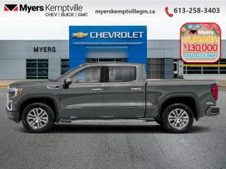 New 2020 GMC Sierra 1500 Denali  - Sunroof - Navigation for sale in Kemptville, ON