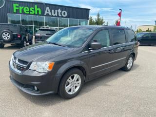 Used 2015 Dodge Grand Caravan Crew Plus for sale in Ingersoll, ON