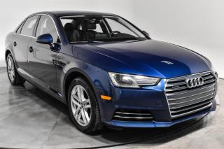 Used 2017 Audi A4 KOMFORT QUATTRO 2.0T CUIR TOIT for sale in St-Hubert, QC