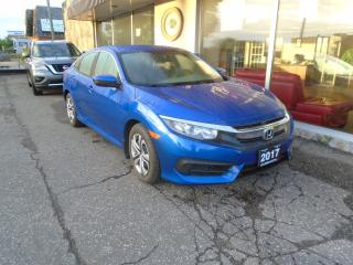 Used 2017 Honda Civic 4dr LX SAFETY 1OWNER NO ACCIDENT 4 NEW TIRES LOW K for sale in Oakville, ON